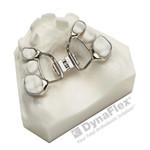 Palatal expander for widening the jaw